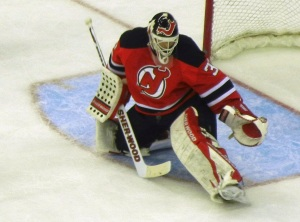 Martin Brodeur experienced his first championship during the whirlwind sprint of the 1995 season. (Tim Kolupanowich/CM)