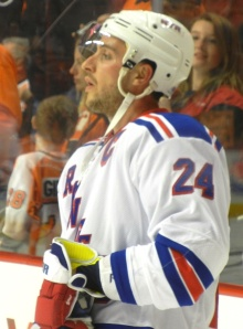 Ryan Callahan's Rangers are going to be a very difficult team to eliminate from the playoffs. (Tim Kolupanowich/CM)