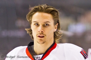 The NHL's top defenseman last season, Karlsson started his career in the highest league in his native Sweden. (BridgetDS/Flickr)