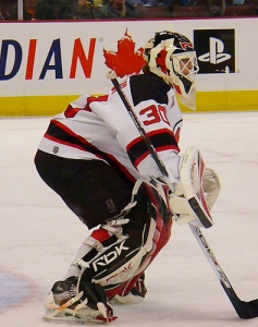 Brodeur's career has been a never-before-seen combination of longevity and a high frequency of games played. (C. P. Storm, Flickr)