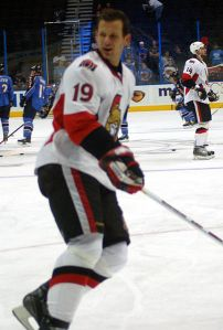 Jason Spezza's absence could be a turning point in Kyle Turris' career. (kaatiya/Wikimedia Commons)