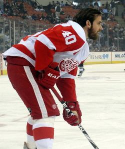 The Detroit Red Wings have a new leader in Henrik Zetterberg. (Michael Miller/Wikimedia Commons)