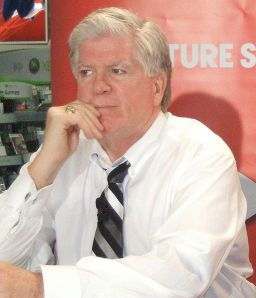 Brian Burke's plan to rebuild may have taken longer than expected, but he would have been in position to make positive additions very soon. (Damien D./Wikimedia Commons)