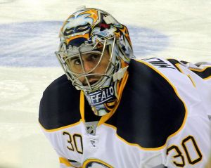 Ryan Miller is going to have to be near perfect every night if Buffalo's offense can't improve from last season. (Michael Miller/Wikimedia Commons)