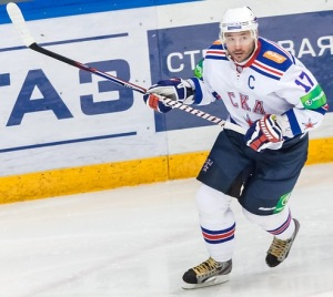 Ilya Kovalchuk shined in his final game in Russia this season. (Александр Головко/Wikimedia Commons)