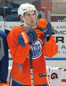 Justin Schultz has a chance at some unique hockey history this season. (Steve Potter/Wikimedia Commons)