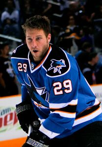 Ryane Clowe would be a solid addition for any team looking for depth. (Ivan Makarov/Wikimedia Commons)