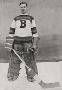 Tiny Thompson remains arguably Boston's greatest goaltender over 70 years after his last game. (Montreal Gazette/Wikimedia Commons)