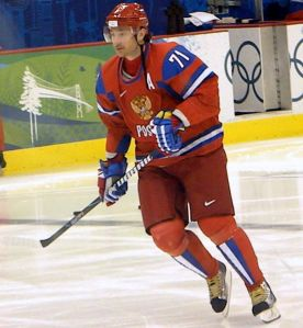 NHL players, especially the Russians like Ilya Kovalchuk, want to head to Russia next February. (Kaiser matias/Wikimedia Commons)